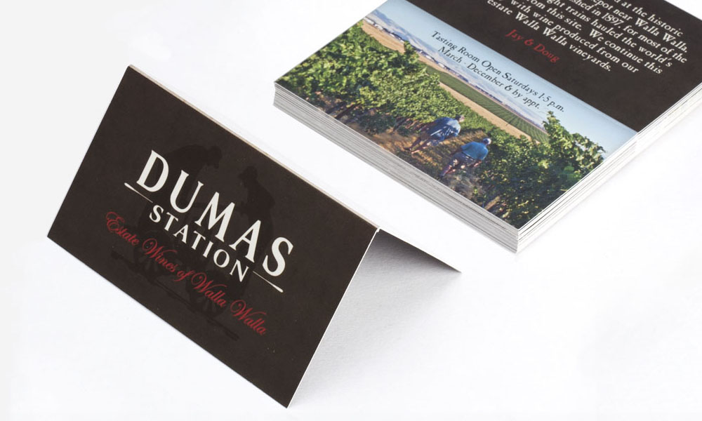 dumas station business card