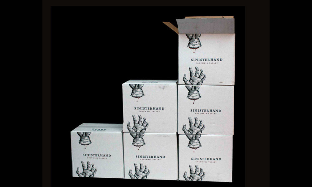 Owen Roe Sinister Hand Package Design
