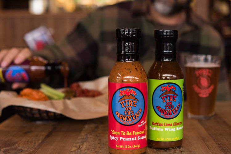 fire on the mountain sauces