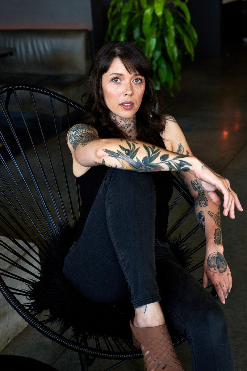 Dina Avila portrait photography