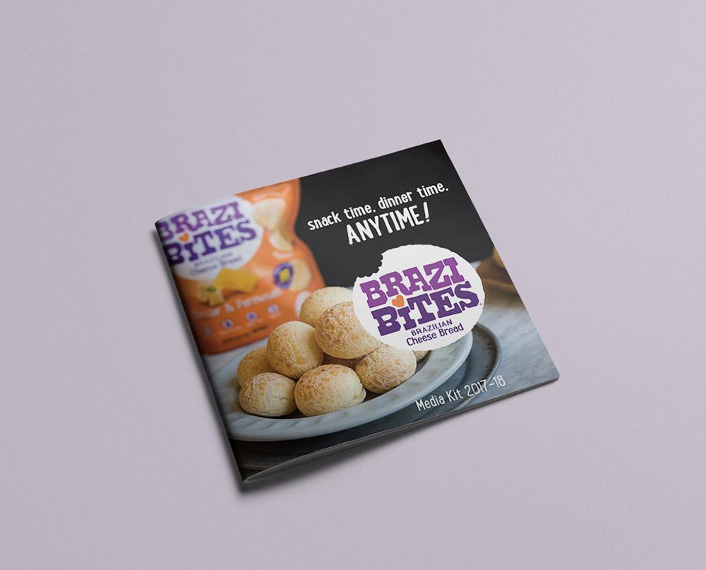 Brazi Bites media kit design cover