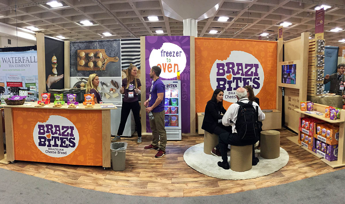 Brazi Bites booth design