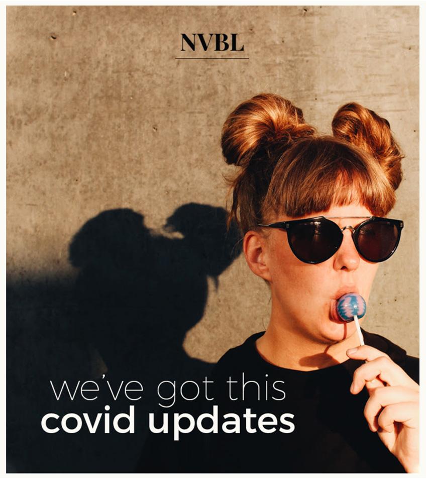 Covid-19 graphic design nvbl