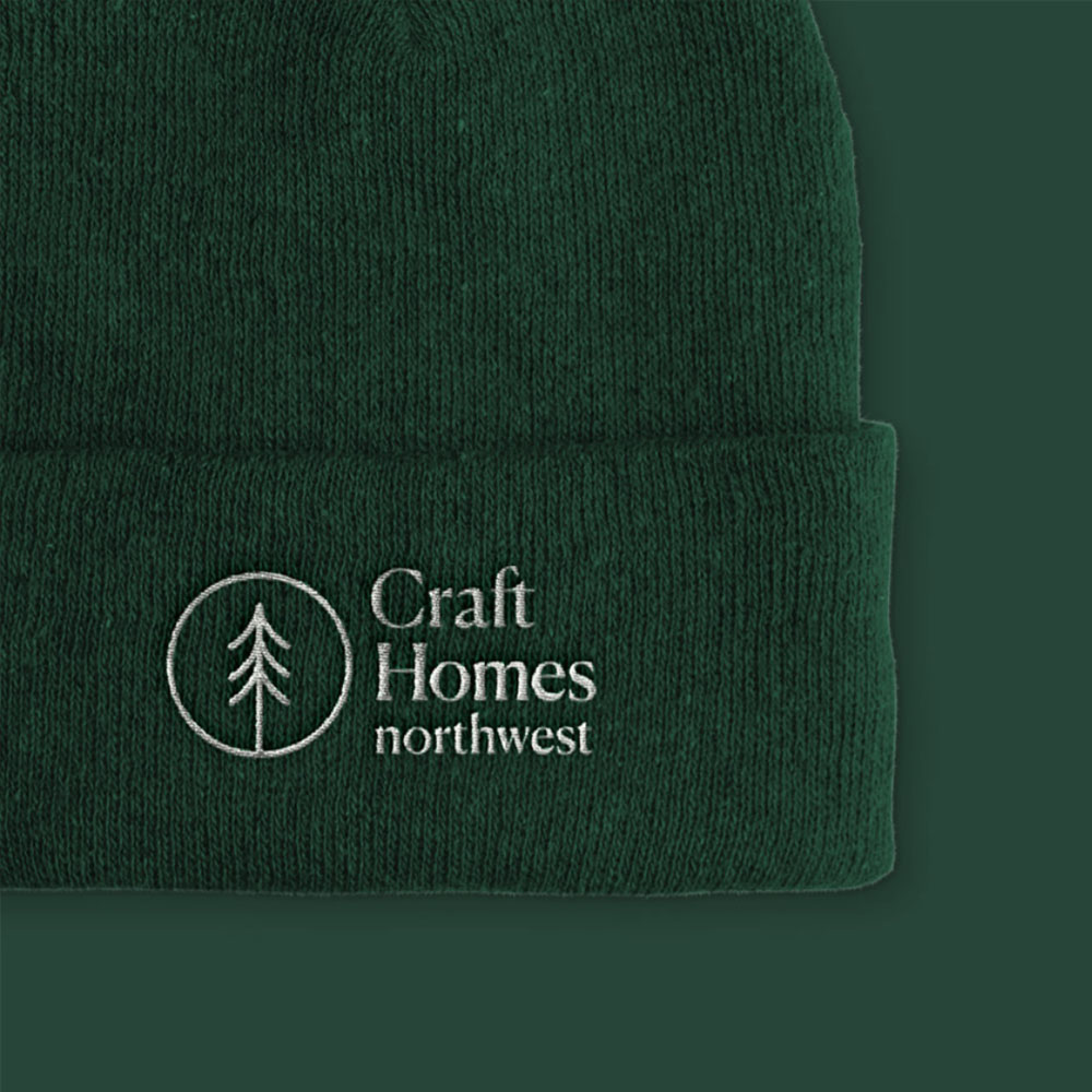 branding and web design for craft homes nw