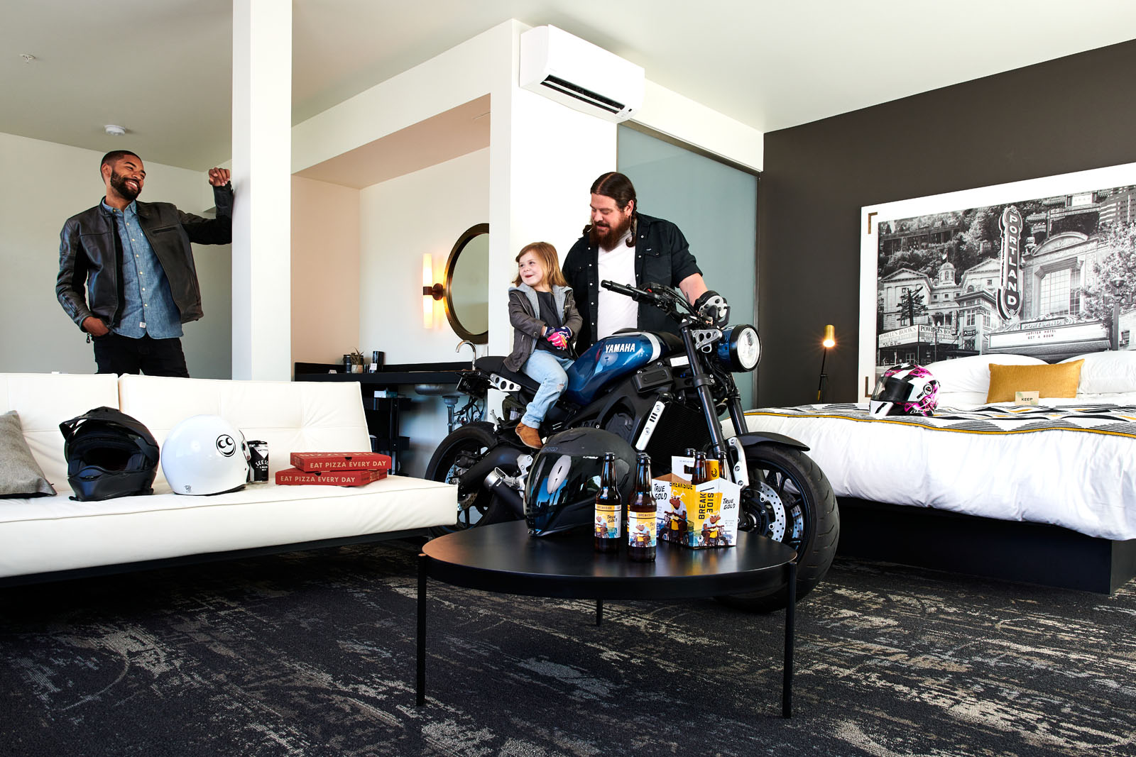 Dina Avila photography for Jupiter Hotel NEXT moto shot