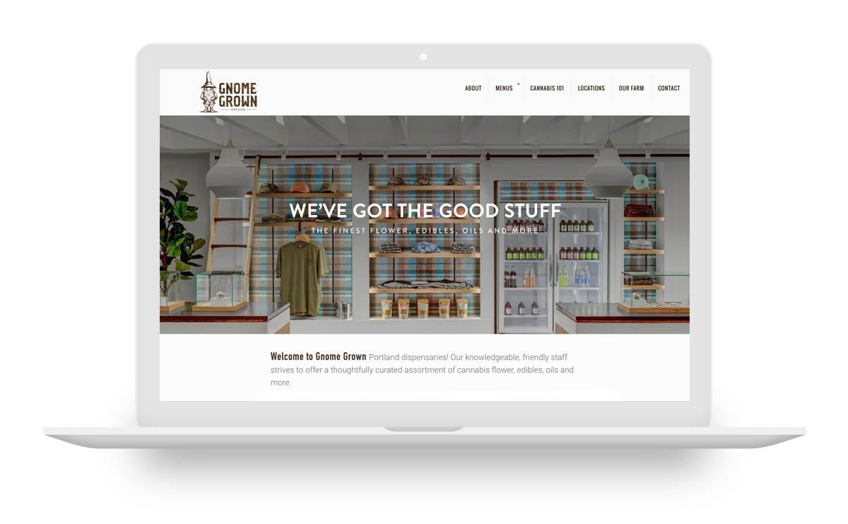 dispensary web design