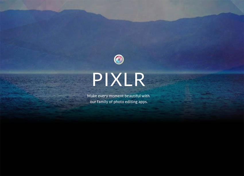 Pixlr free online photo editor