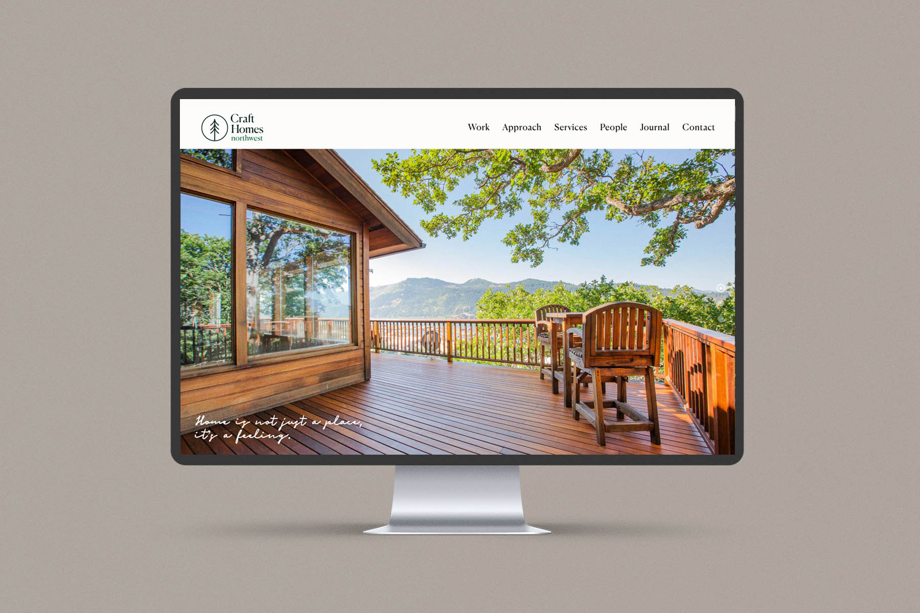 home page web design craft homes nw
