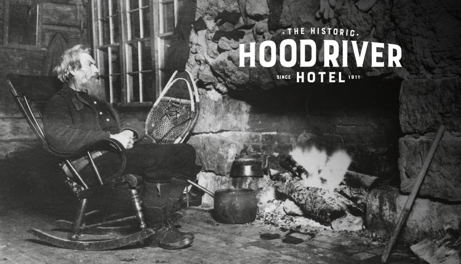 hood river hotel brand design