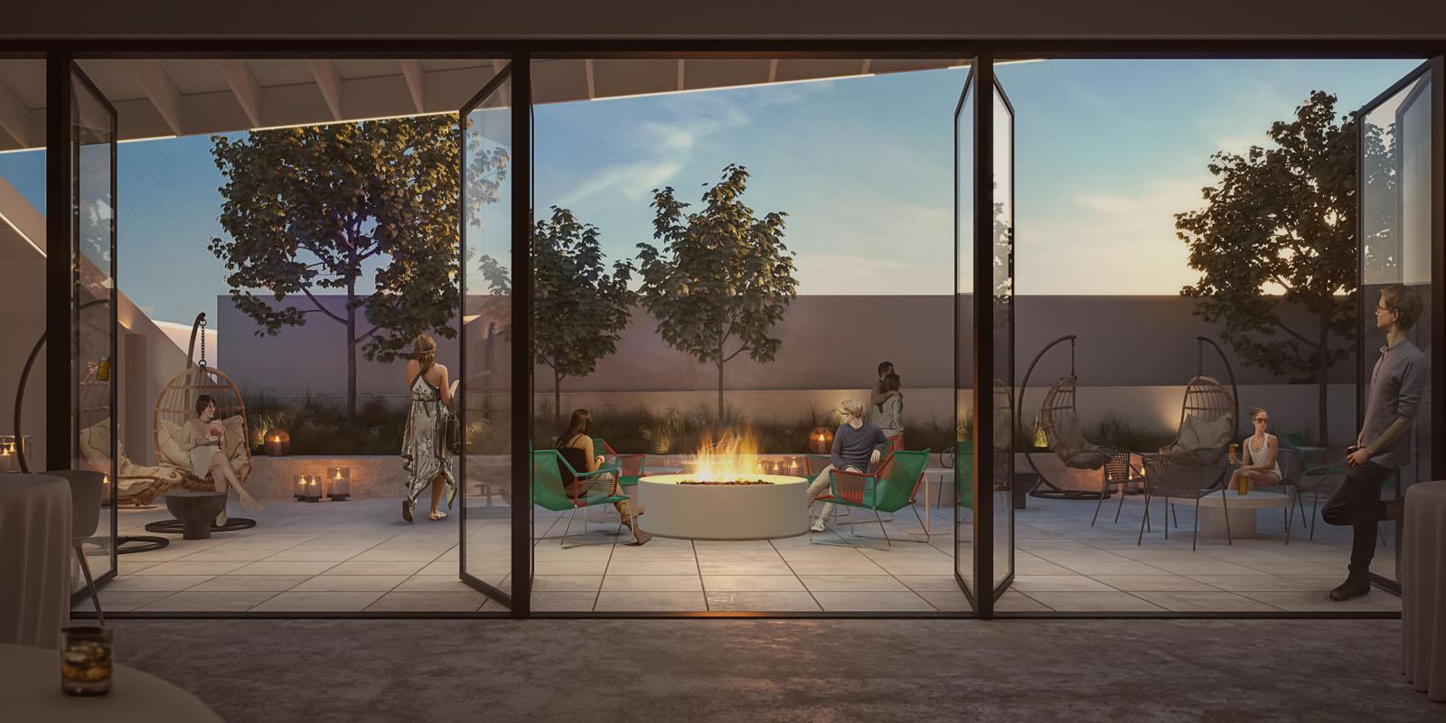 Jupiter NEXT Hotel renderings