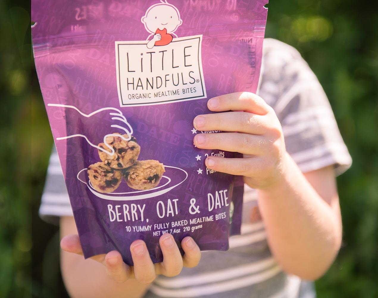 Little Handfuls Organic brand design