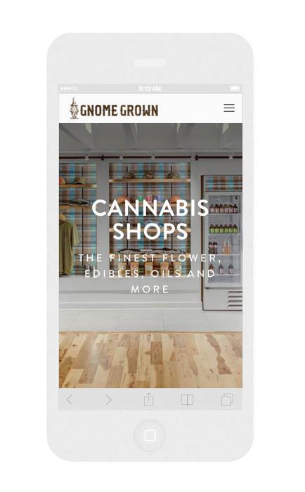 Portland Cannabis Mobile Web Design