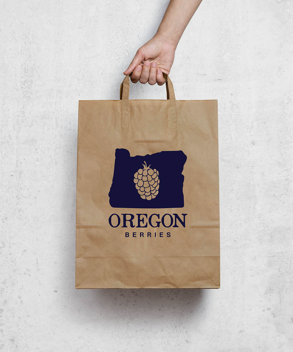 Oregon Berry bag design 2