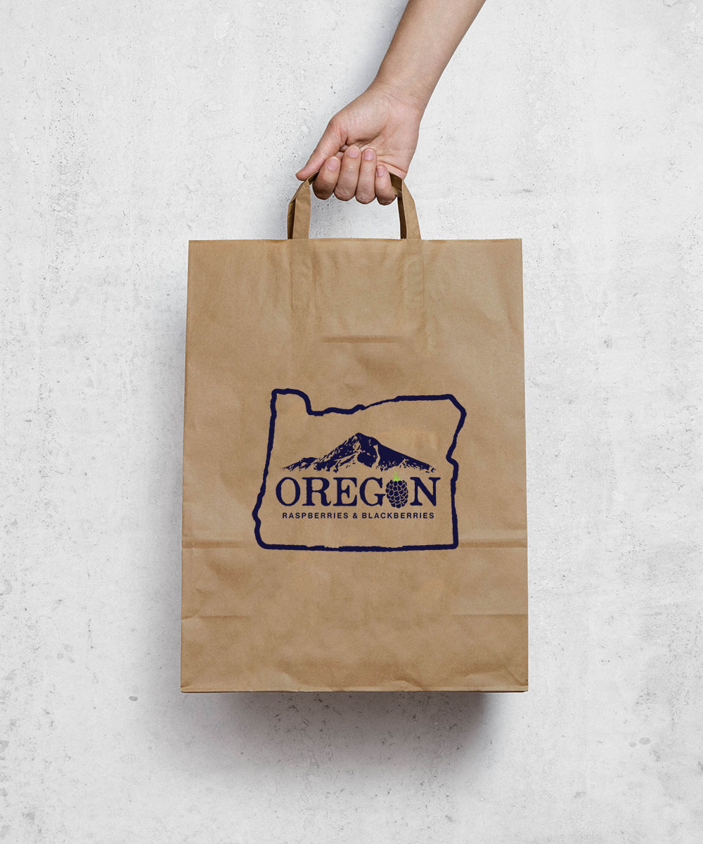 Oregon Berry bag design