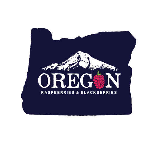 Oregon Berry Commission logo design