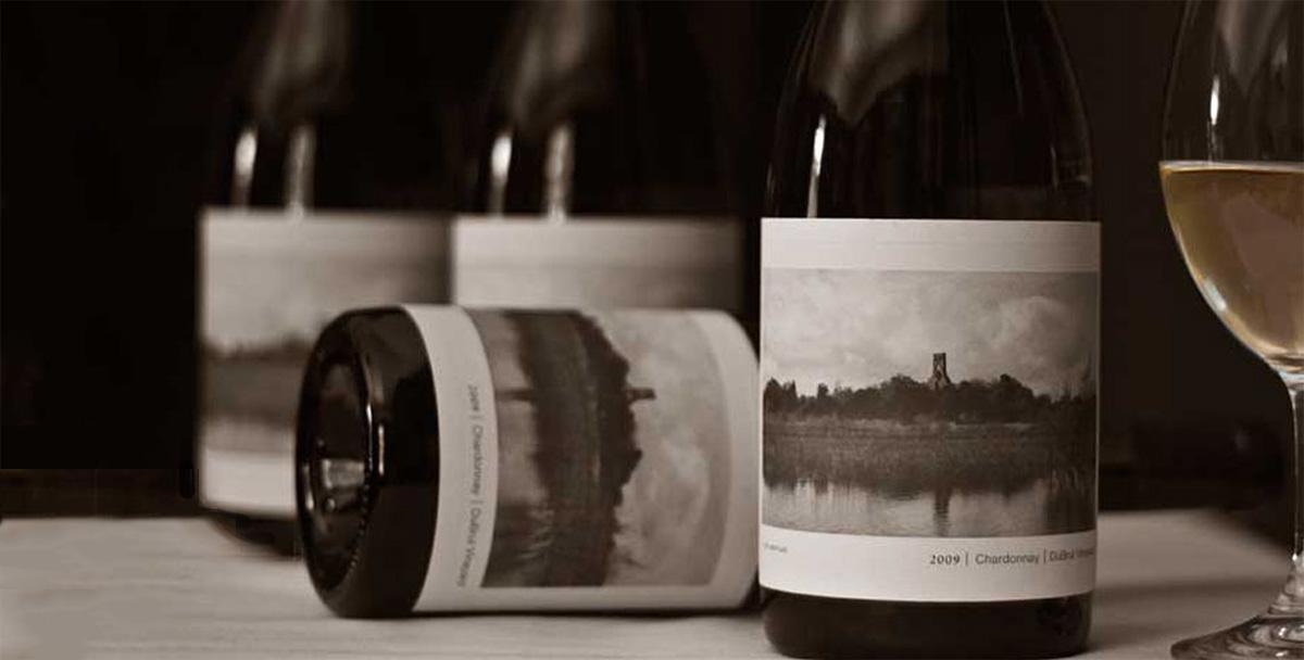 Oregon winery label design