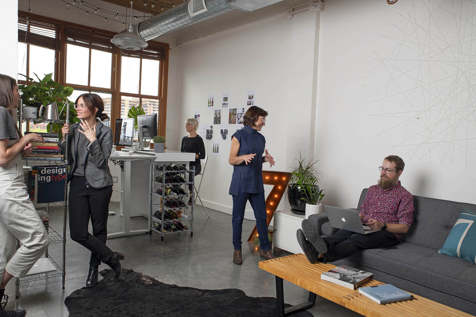 Portland design studio office