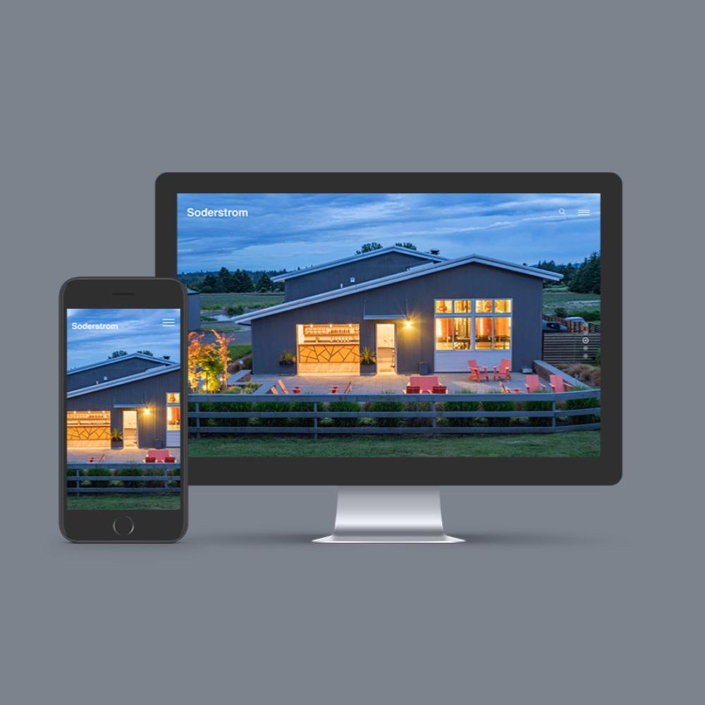 web design for soderstrom rachitects