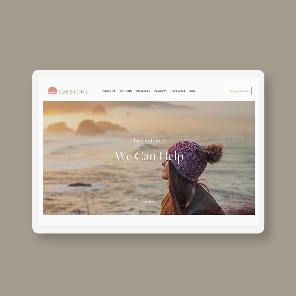 Sunstone desktop design