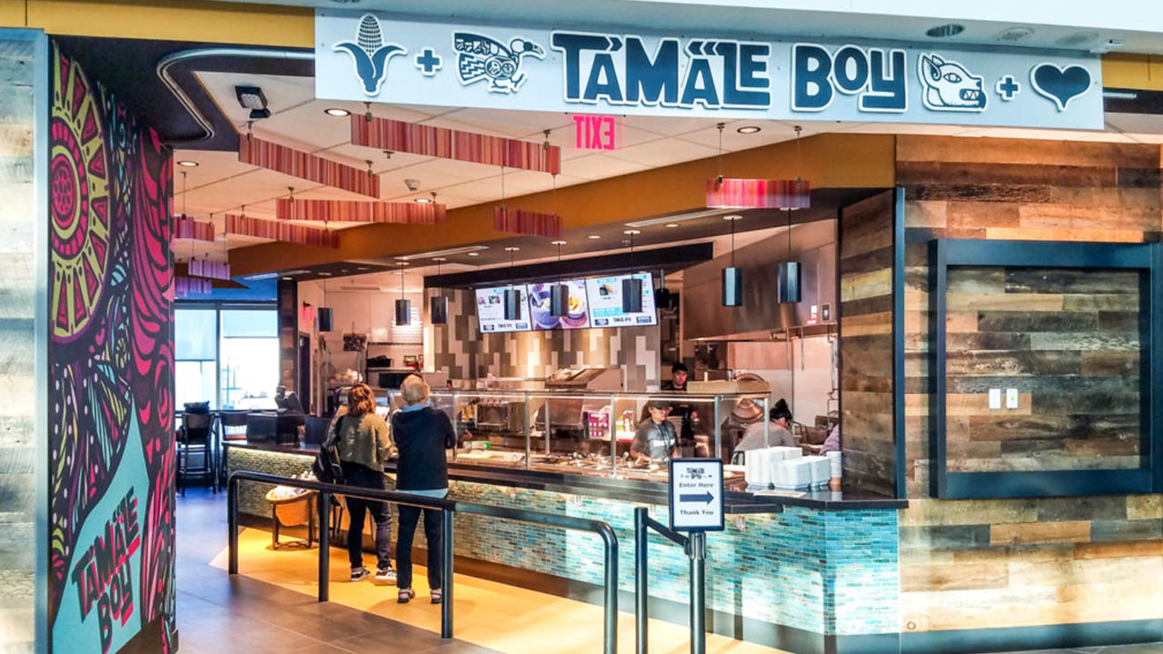 Tamale Boy PDX airport
