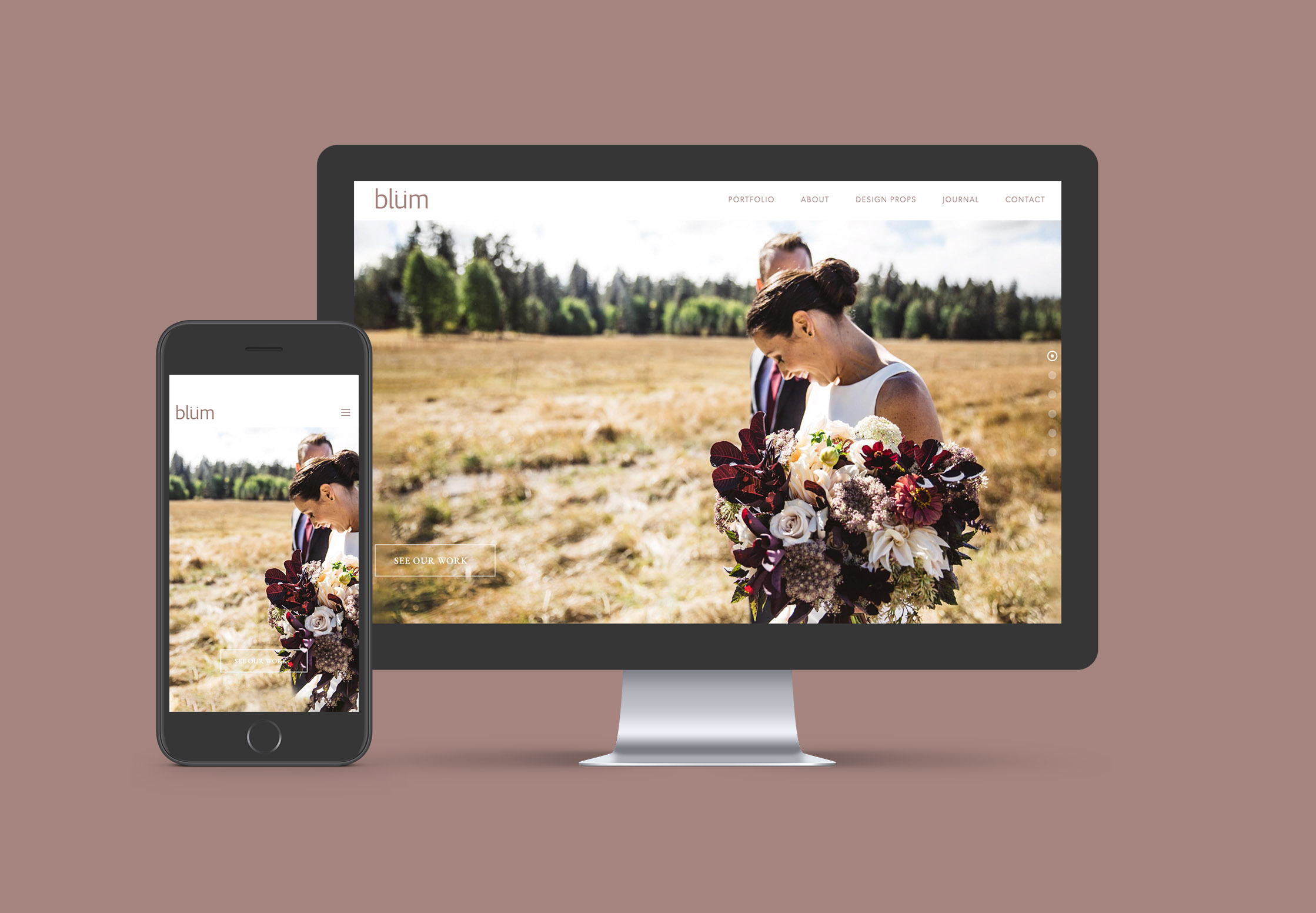 web design for portlands best floral designers